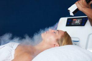 Cryofacial treatment