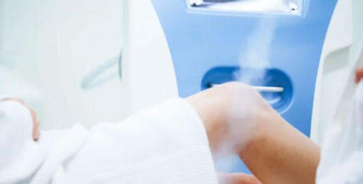 localized cryotherapy treatment